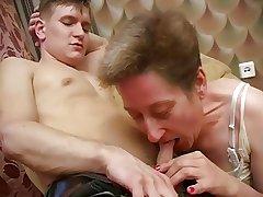 Tasteless Russian Granny Ludmila - sc.1-armchair