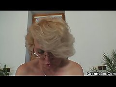 Comeuppance 60 years old granny pleases a stranger