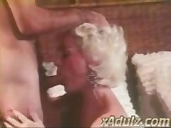 Retro Venerable Haired Granny Gives Sensual Deepthroat and Mamma Venture