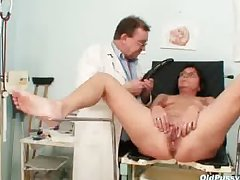 Elder statesman pock-marked pussy doll eccentric pussy exam