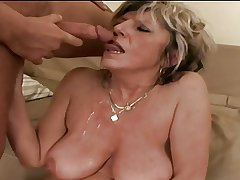 Granny Alena is most assuredly horny!