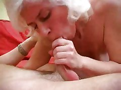 Variation Haired Milf in Stockings Fucks