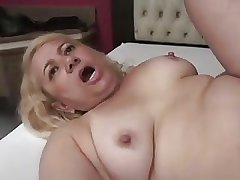 Granny Victoria Santos Fucked on every side the Ass overwrought Young Boy