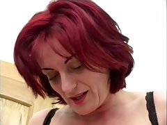 Horny mature housewife fucked at the end of one's tether younger chap