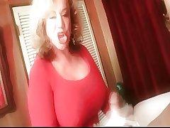 Granny Handjob #4 (Dirty Talking) 'Such the present Errand Boy'