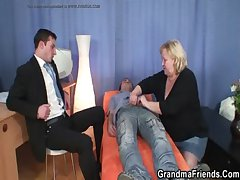 Grandma threesome being done place  - sexyfitnesstime.tk