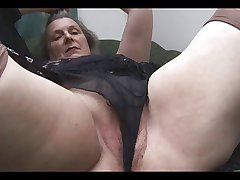 Tess chum around with annoy beautiful granny scene 2