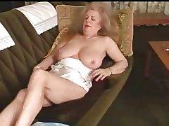 Victorian granny masturbates
