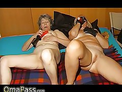OMAPASS: Granny likes douche hard