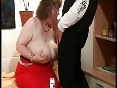 Beamy Granny Nigh Colossal Boobs
