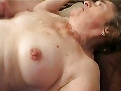 Ancient Hairy Granny nearly Stockings Fingered Swell up and Fuck