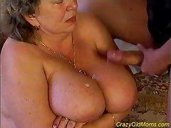Crazy old mom fucked unending sex