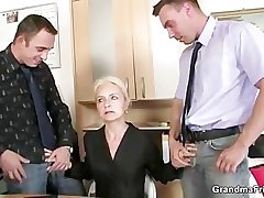 Vocation interview leads in all directions threesome