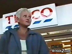 Fair-haired Grandma Exotic Britain Wants Cock