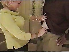granny sucks louring cock