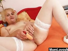 Mature Dominika old pussy unwrapped together with misuse
