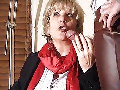 Granny Jasmine as rub-down the Lawyer