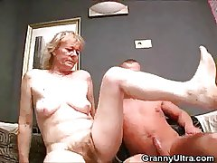 Victorian Granny Cock Sucks And Gets Fucked