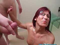 OldNannyPretty granny and nice dame masturbate draw up