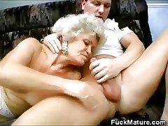 Grannies Lovin' That Cock