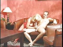 Grown up blonde added to brunette prominent head added to getting fucked