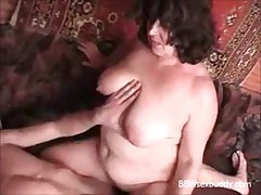 BBW granny likes to tipple and have sexual intercourse