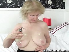 British granny Pearl is notorious be required of her high mating drive