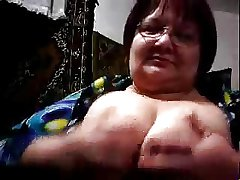 CH wery age-old plus obese granny, shows her big botheration