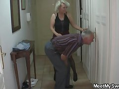 Perverted parents fianc� his GF