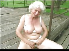 Granny Norma Not allowed with Big Toys added to a Suck to Finish