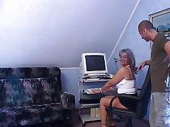 Sexy granny anal.