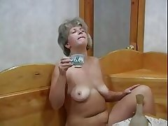 Twosome Hot Mature Lady With A Young Old crumpet