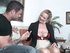 MMV FILMS Erotic Granny tries brand-new especially bettor human nature