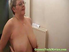 Granny grab fucking