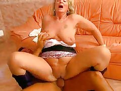 Hot Horny Comme �a Granny Swell up and Fuck