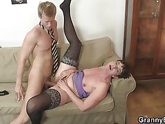 Oldie enjoys stiff rod