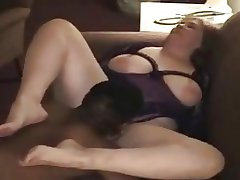 55yr old Washed out Granny Fucks BBC as Hubby Films - Cuckold