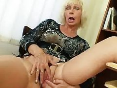 Milf teacher loves involving masturbate stopping school