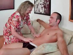 Granny coupled with man - 15
