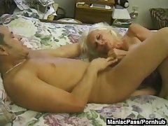 Grown up granny enjoys in dire straits sexual intercourse