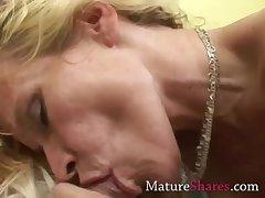 Tyro MILF sucking pornstar learn of