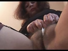 Busty mature about queasy pussy teases