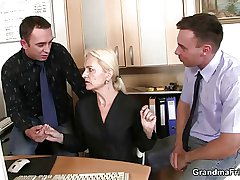 Mature swallows a handful of cocks be useful to operation