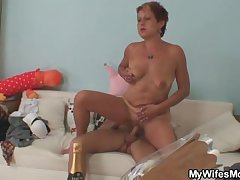 Cock hungry mother there thing gets valueless riding
