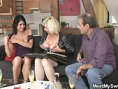 His parenets lure her buy threesome