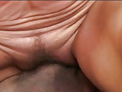 Of age rides a cock with the addition of gets a mouthful of cum
