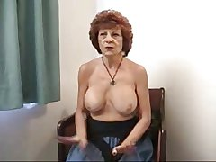 Granny more fake tits.