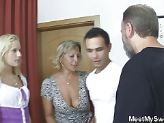 Czech kermis complex come by home threesome