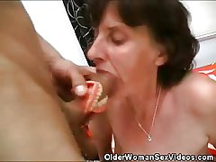 Old Explicit Dentures And Cock Sucking