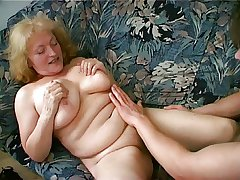 Obese Granny Likes Cum Dripping from her Patronize convince